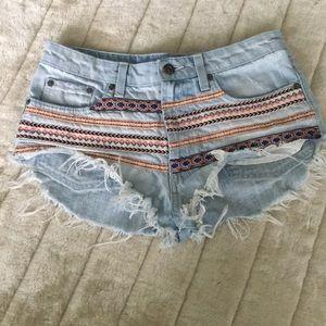 Carmar Denim Cheeky Shorts